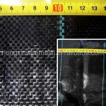 90gsm-140gsm black/green PP ground cover,weed barrier Fabrics, weed mat in strawberry garden