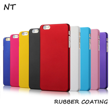 hot selling rubberized plastic hard PC mobile phone case for iphone 6 6s 6p