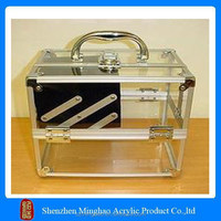 High hardness transparent acrylic computer case, acrylic box pc