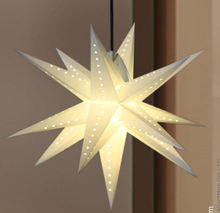 Multi-Angle paper star for hanging christmas decorations outdoor 3d balloon lanterns