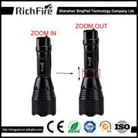 T6 Tactical Flashlight Bulb Zoom,powerful led hunting lights,emergency led hunting light