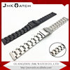 2017 trending products stainless steel watch band three solid beads watch band