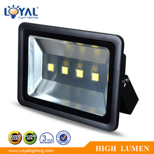 Outdoor ip68 waterproof bridelux cob 200w high intensity led flood lights