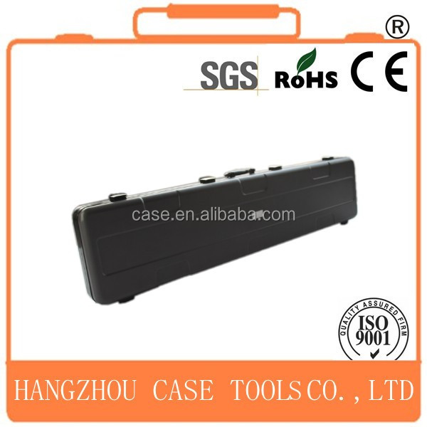 hard gun box/ABS gun box with aluminum frame/plastic gun box