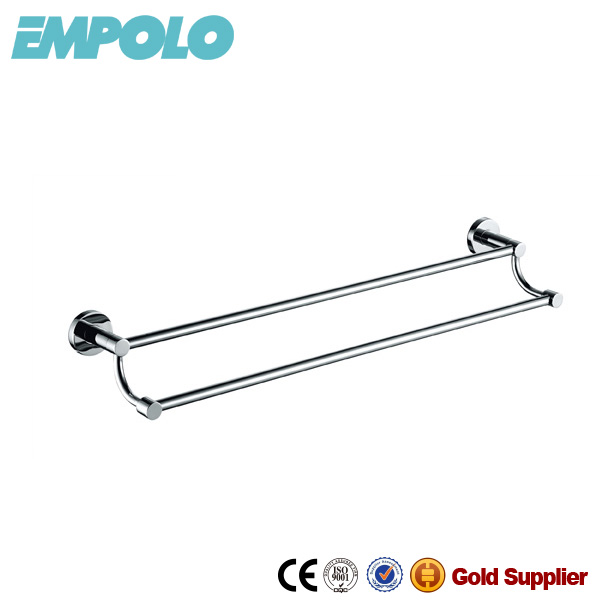 Economic Stainless Steel Double Towel Bars For Bathroom Decoration 927 08A