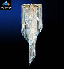 Chinese luxury empire crystal lamp wholesale