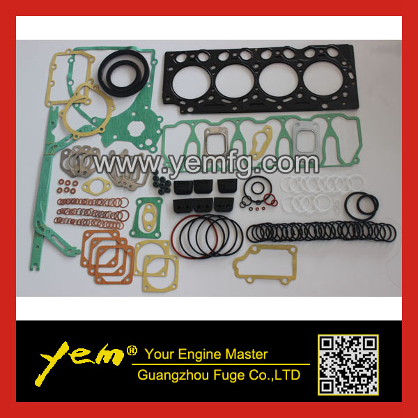 Engine D4D full gasket set overhauling gasket kit complete gasket set EC140