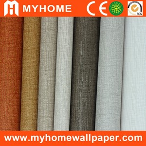 Fire proof good quality wall paper wall coating vinyl wallcovering
