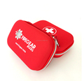 Custom red design eco-friendly EVA first aid kit carrying box