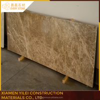 Durable Polished Spain Light Emperador marble tiles granite for interior and exterior use