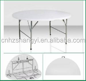 folding round table and chairs for banquet