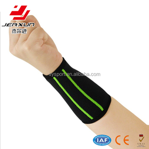 Elastic breathable badminton bowling wearable wrist band support