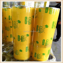 household cast pvc cling film for food wrapping