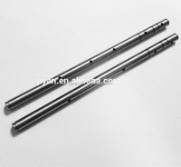 High precision cnc machining steel rod 3mm surgical stainless steel rods steel rod with holes