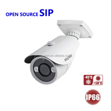 2.8-8mm motorized varifocal lens IP small security CCTV camera with audio out/in design house