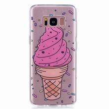 Soft TPU Case for Galaxy S8 ,For Samsung S8 Painted Phone Case