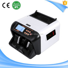 S68 ZC-555 India Money Banknote Currency Bill Cash Note Sorter with UV MG Counterfeit Detection
