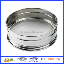 50 150 200 400 500 micron mesh stainless steel wire mesh test sieves(Anping Factory)