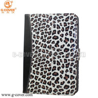 Leopard Portfolio ereader case, for kindle paperwhite ereader case