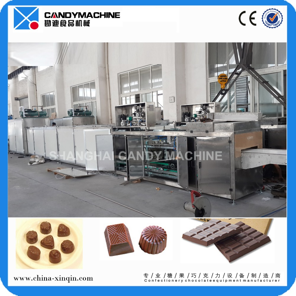 QJZ470 center filled chocolate moulding machine