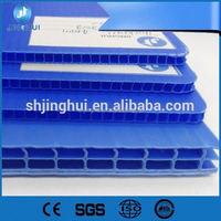 Jinghui puncture resistant pp corrugated plastic board for adversting