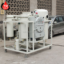 CE approved used turbine oil filtration purifier in power plant