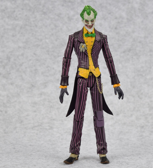 Batman The Joker Pvc Action Figure Collectible Model Toy 17cm Classic Toy Movable Joints