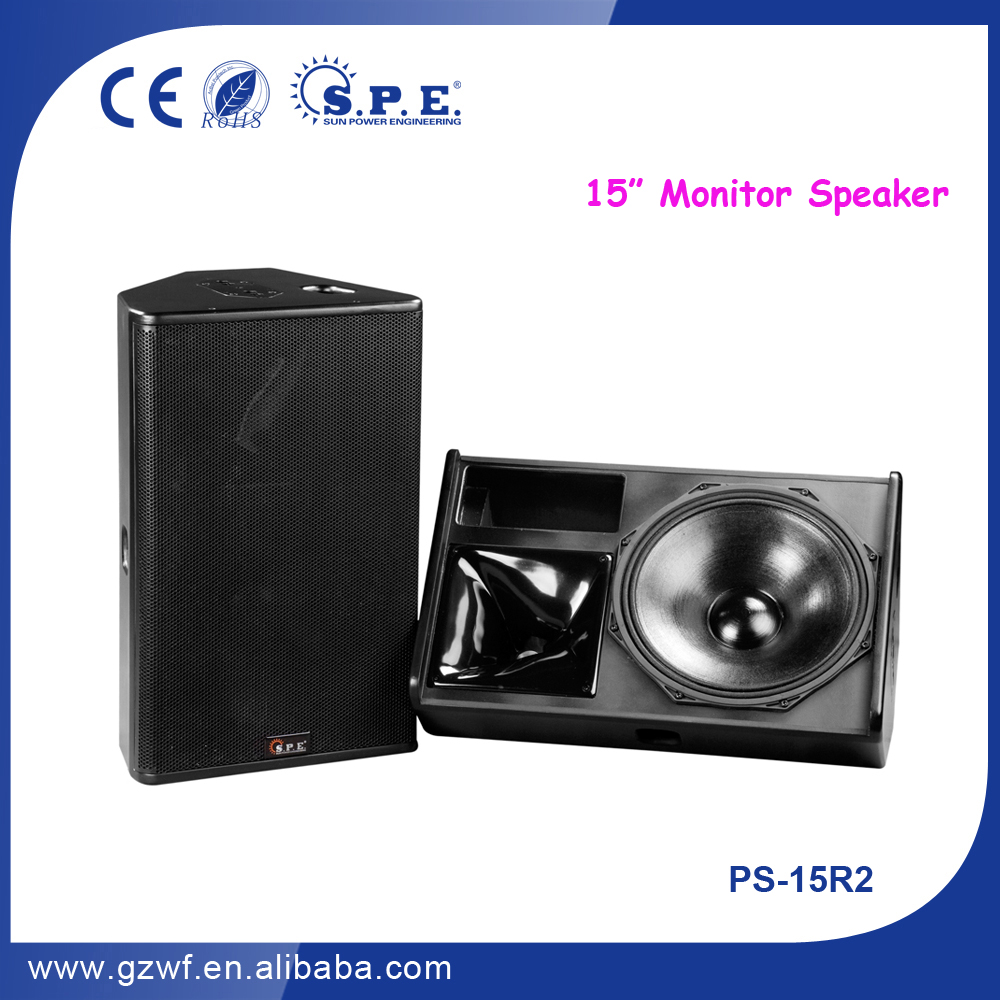 SPE Audio 15 inch PS NEXO Monitor Speaker PS-15R2
