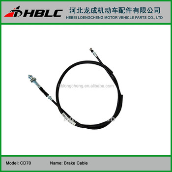 Motorcycle Spare Parts CD 70 CDI FRONT BRAKE CABLE