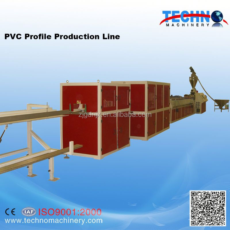 PVC Small Profile Extrusion Machine/Skirting Board Line