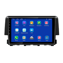 "9"" Android 7.1 Car DVD Player, Quad Core, GPS, Radio, Bluetooth For Honda Civic"