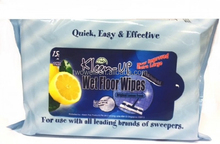 wet floor wipes for use with all leading brands of sweepers