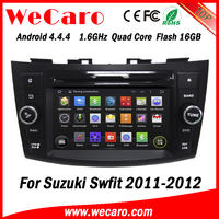 Wecaro WC-SS7669 Android 4.4.4 car stereo 2 din touch screen car dvd for suzuki swift audio system 16GB Flash 2011 2012