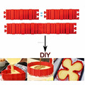 2017 Hot Sale Premium Magic Bake Snake Nonstick Silicone Cake Mold Best Flexible DIY Baking Mould Tool