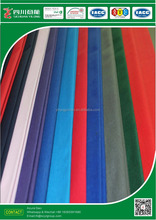 Polyester/Cotton blended T80/C20 255gsm 1/1 canvas fabric solid dyed with Antibacterial fabric