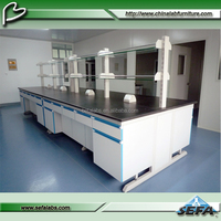 School lab table and chairs/esd workstation/workbench wooden