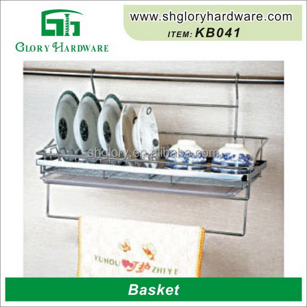 Widely Use Chrome Finished Metal Basket Shopping Cart