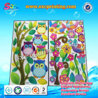 Cute cartoon sticker custom puffy sticker