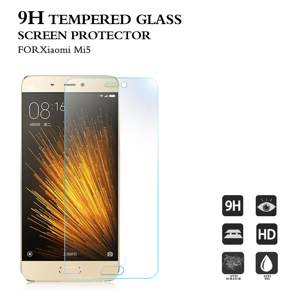 New arrival for Xiaomi mi 5 screen protector 9H 2.5D mobile phone accessory screen guard