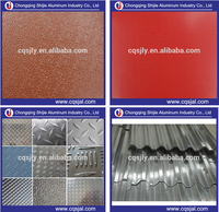 1050 1060 3003 3105 3005 5052 5457 checkered / corrugated / embossed aluminum sheet coil wholesale price