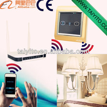 TYT home automation touch control panel Wireless Zigbee HA smart home lighting control