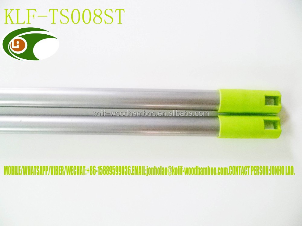 aluminum alloy/iron/stainless steel/fiber adjustable mop pole/adjustable squeegee pole/adjustable water blade
