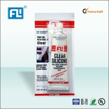 RTV silicone sealant and gasket maker for car engine