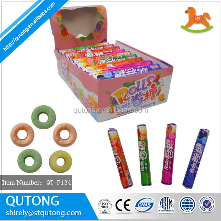 Halal Fruit roll tablet candy press candy factory price