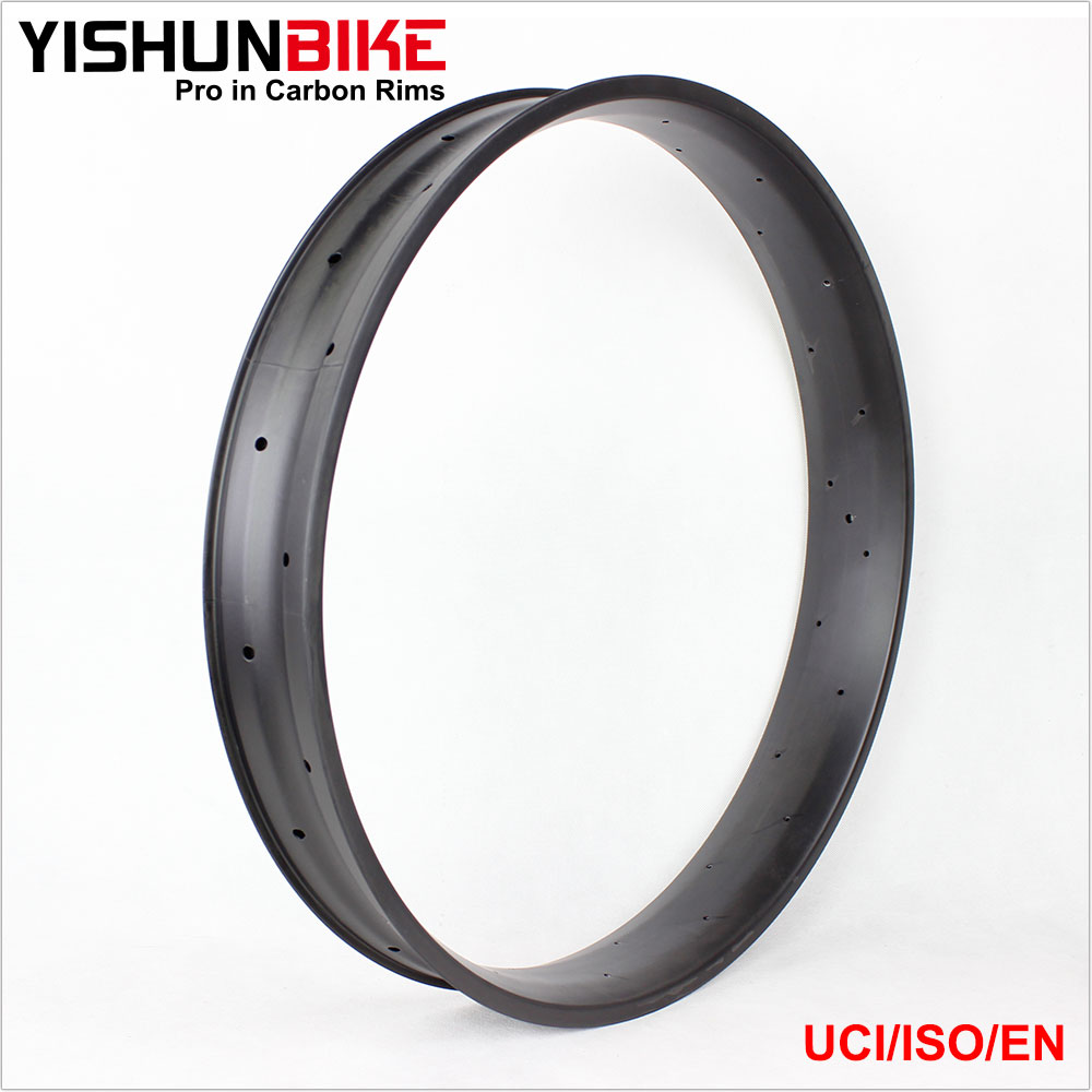 2017 YISHUNBIKE 26er Fatbike Rim Bicycle Carbon Hookless 26inch Chinese Rims