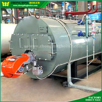 gas and diesel oil fired boiler for industrial steam generating