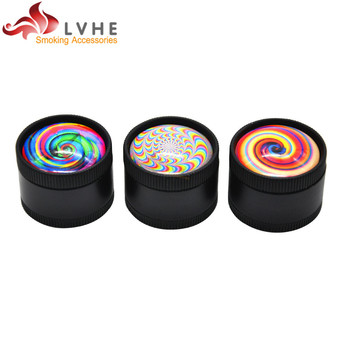 T092GZ LVHE New Style 3 Layers 30MM Mini 3D Herb Grinder for Sale