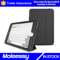 Ultra Slim Lightweight Smart-shell Stand Cover Case With Auto Wake / Sleep for Apple iPad Mini 3 for iPad Mini 4