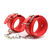 Wholesale Cheapest Adult Erotic Wrist Bdsm Restraint PU Leather Bondage Handcuffs Sex Toys for Woman