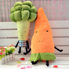 OEM comfortable vegetable shape soft pillow and cushion